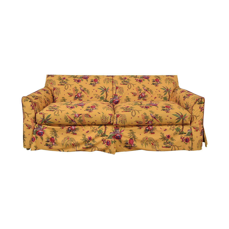 Baker Furniture Baker Furniture Floral Slipcover Sofa Sofas