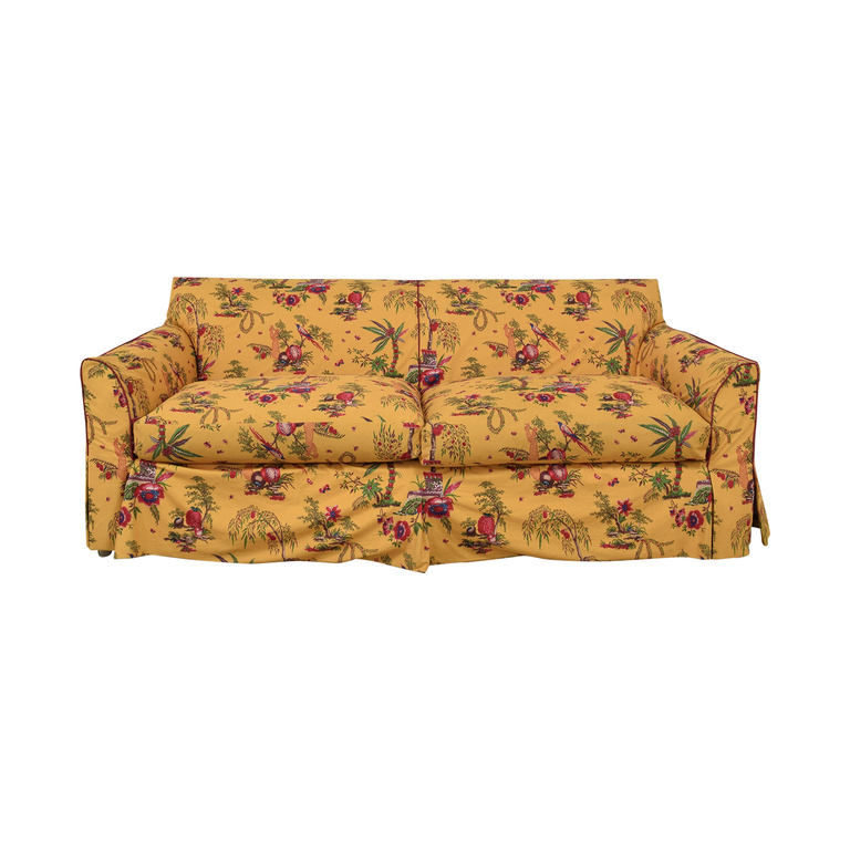 Baker Furniture Baker Furniture Floral Slipcover Sofa nj