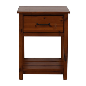 Pottery Barn Pottery Barn Kids Camp Single Drawer End Table for sale