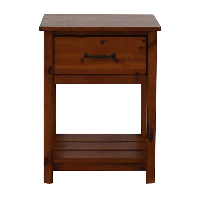 shop Pottery Barn Kids Camp Single Drawer End Table Pottery Barn