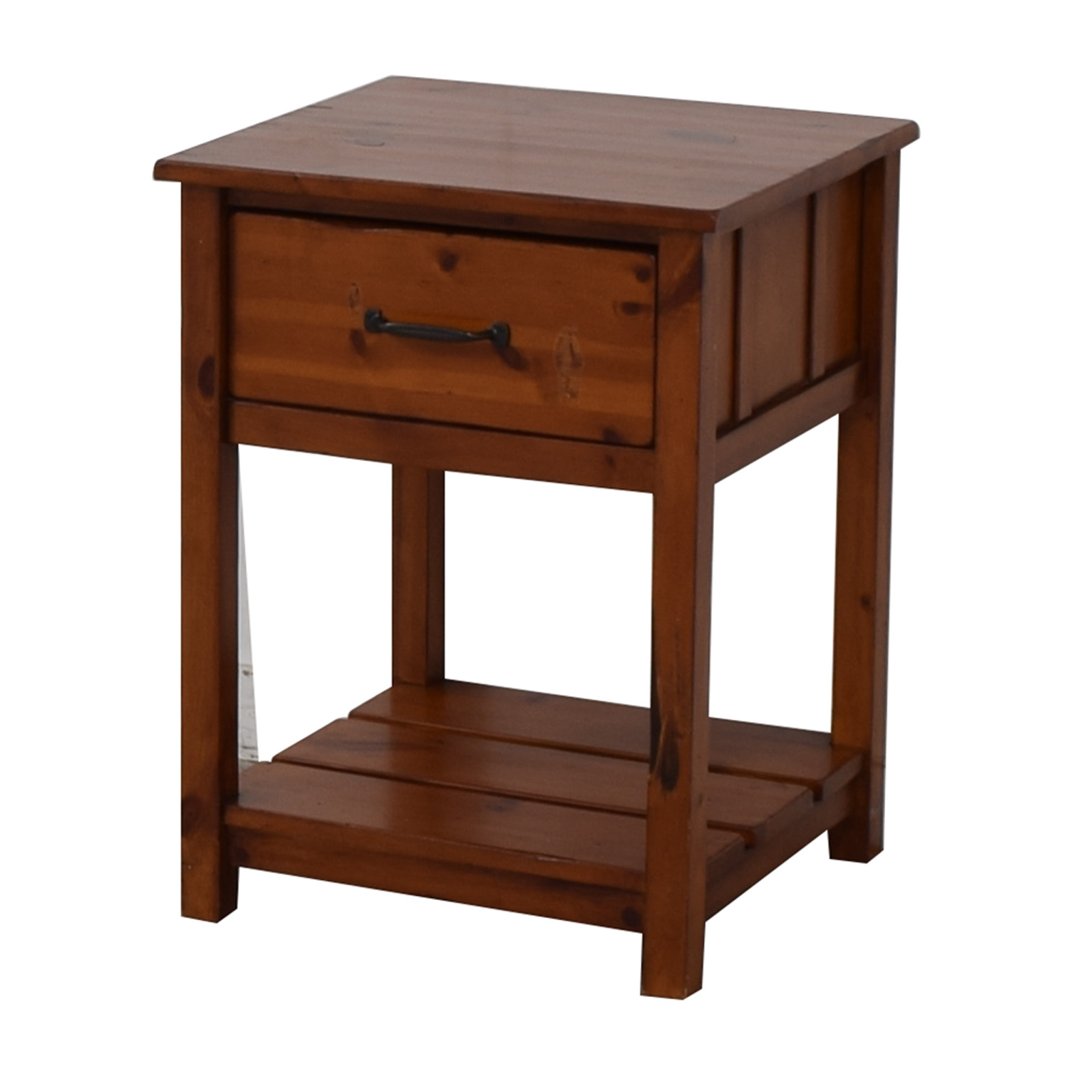 shop Pottery Barn Kids Camp Single Drawer End Table Pottery Barn Tables