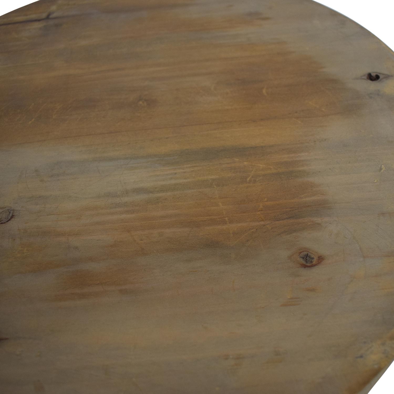buy Coast to Coast Imports Lattice Round Wood and Metal Stools Coast to Coast Imports Tables