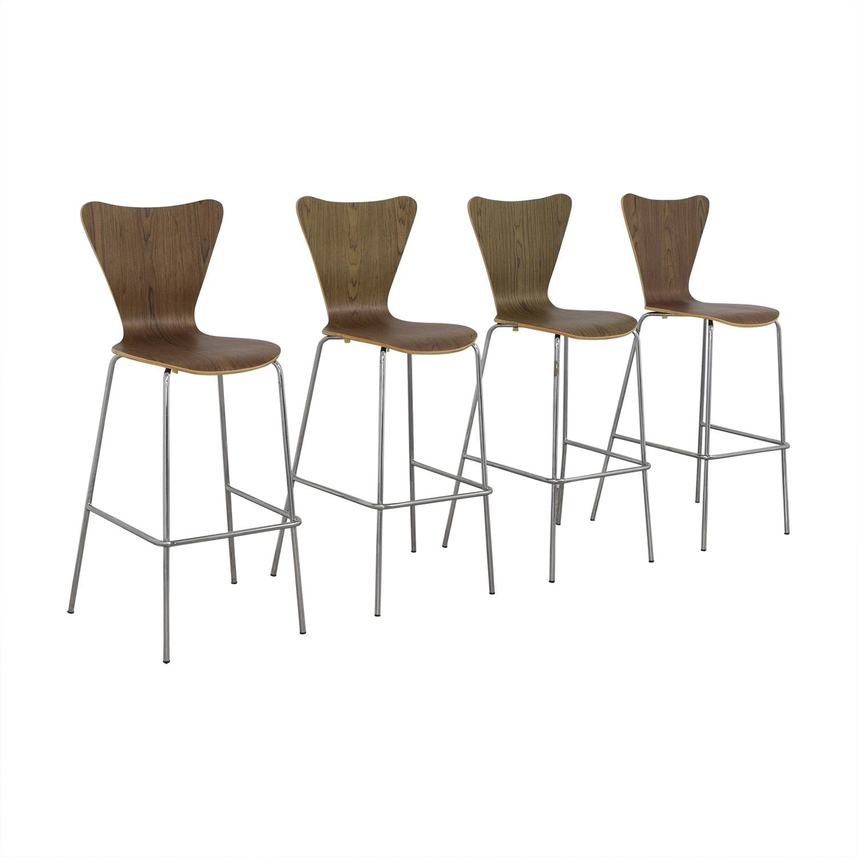 shop Modway Furniture Modway Furniture Arne Jacobsen Bar Stools online