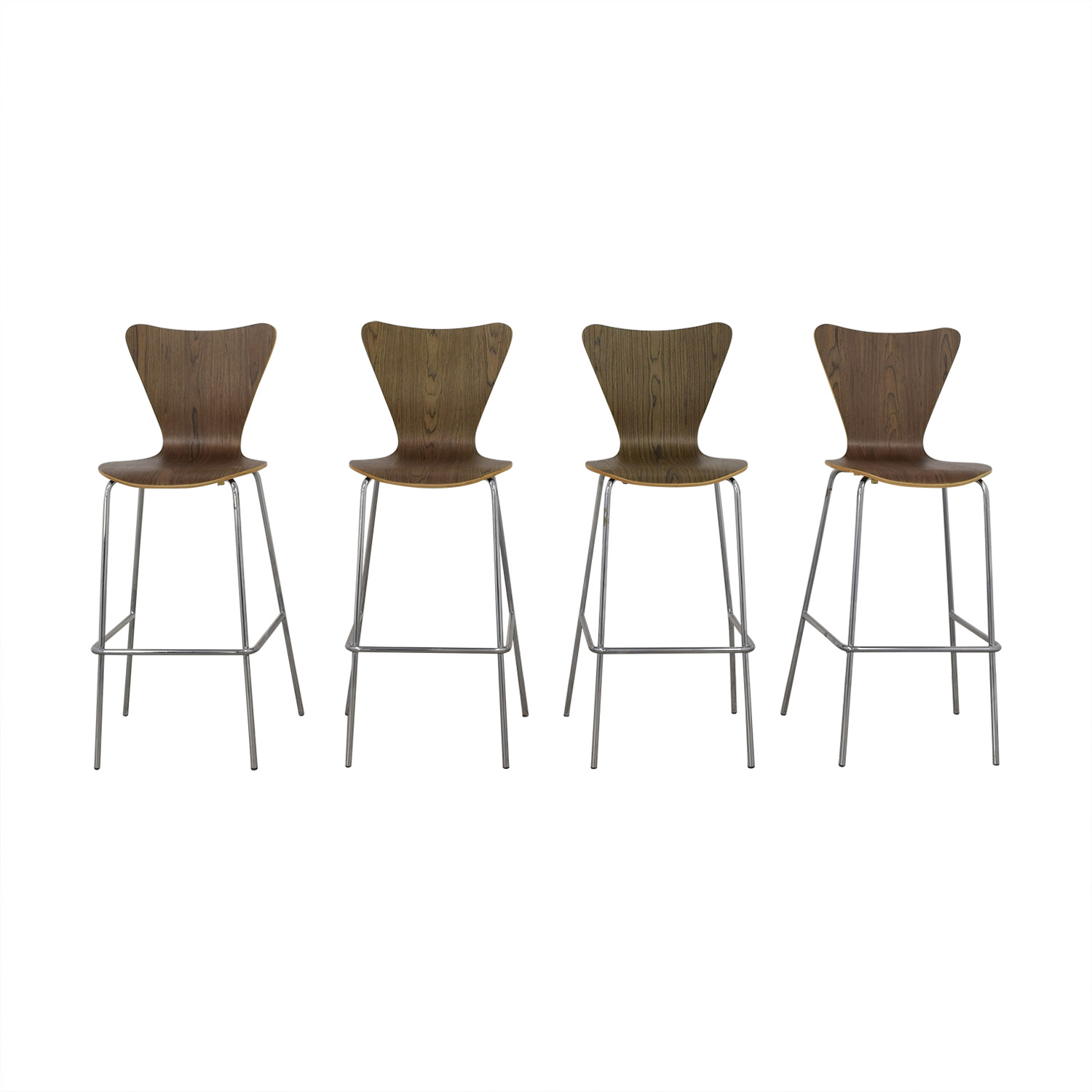68 Off Modway Modway Furniture Arne Jacobsen Bar Stools Chairs