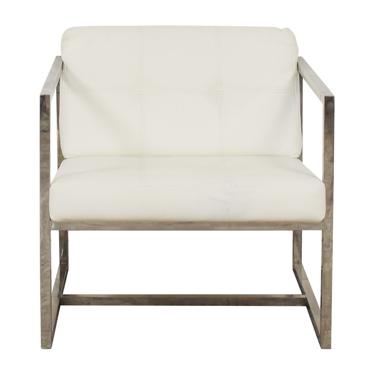 Modway Modway Hover White Lounge Chair discount