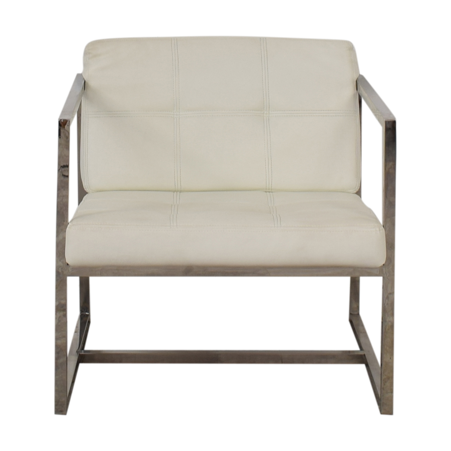 Modway Modway Hover White Lounge Chair Accent Chairs