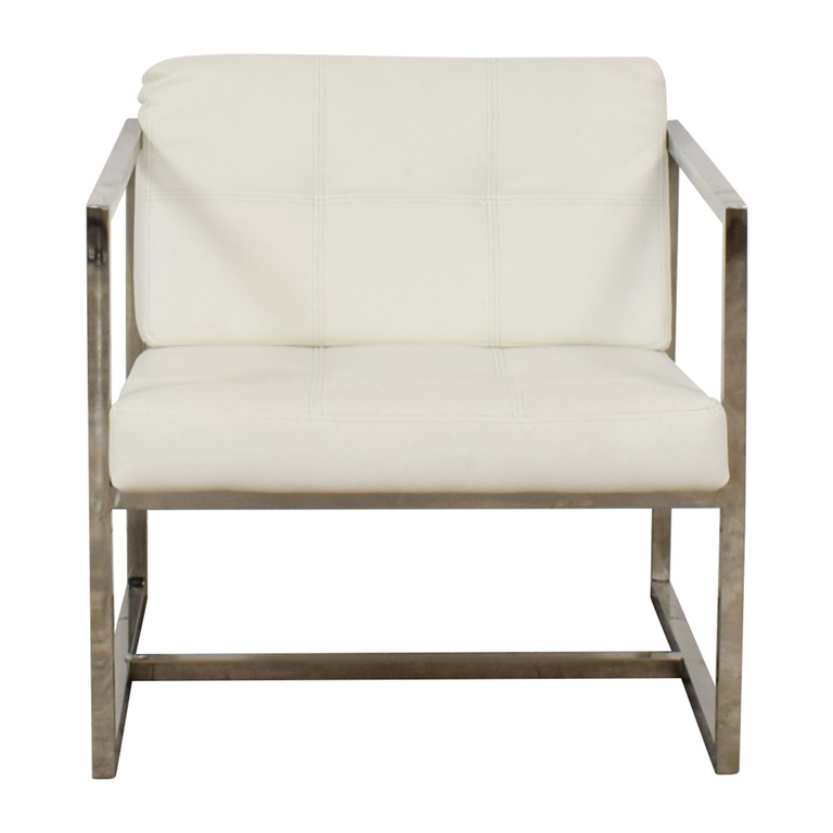 Modway Modway Hover White Lounge Chair used