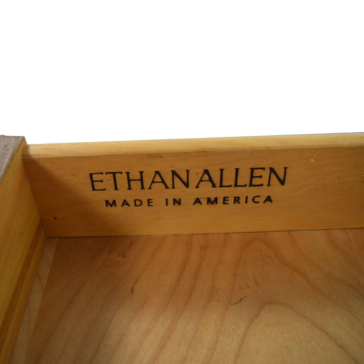 Ethan Allen Ethan Allen Dovetailed Single Drawer End Table price