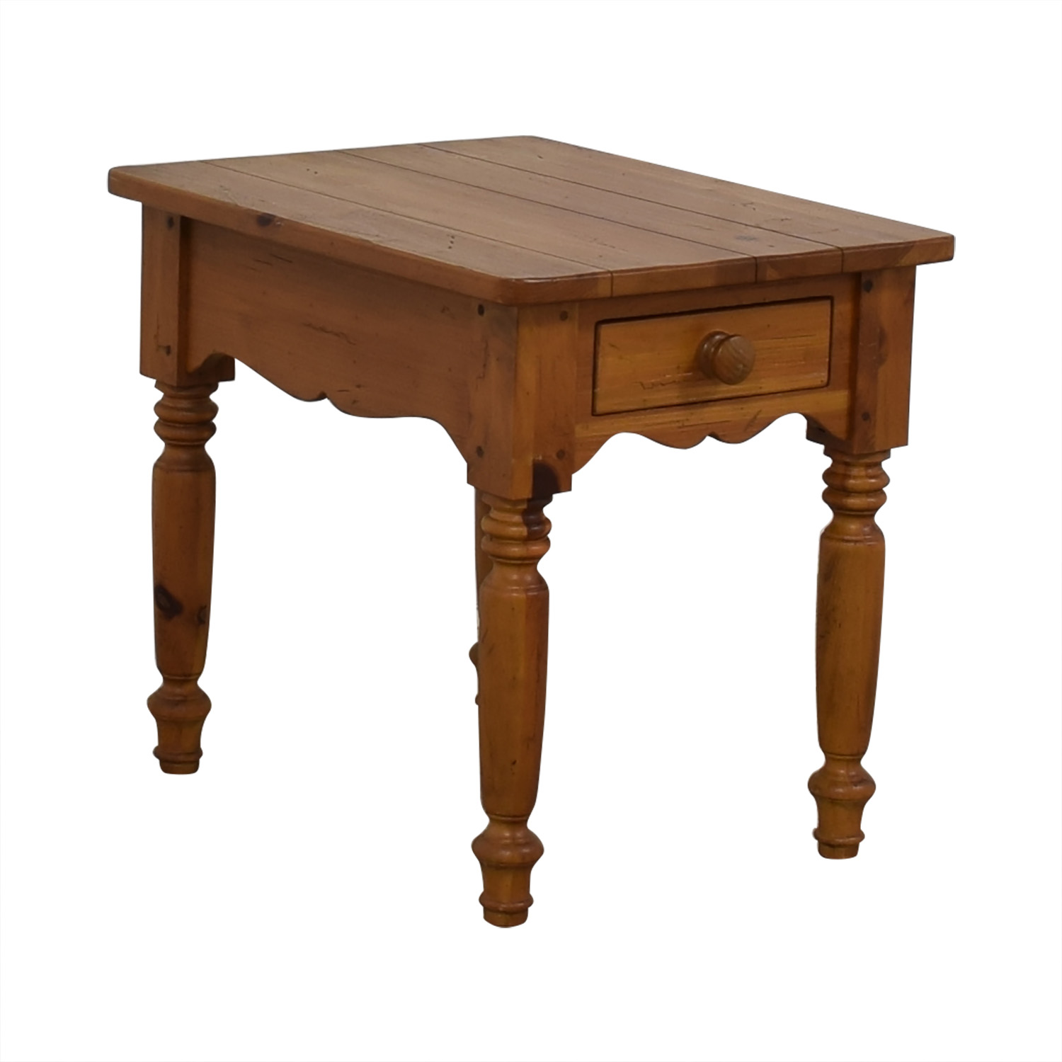 Ethan Allen Ethan Allen Dovetailed Single Drawer End Table coupon