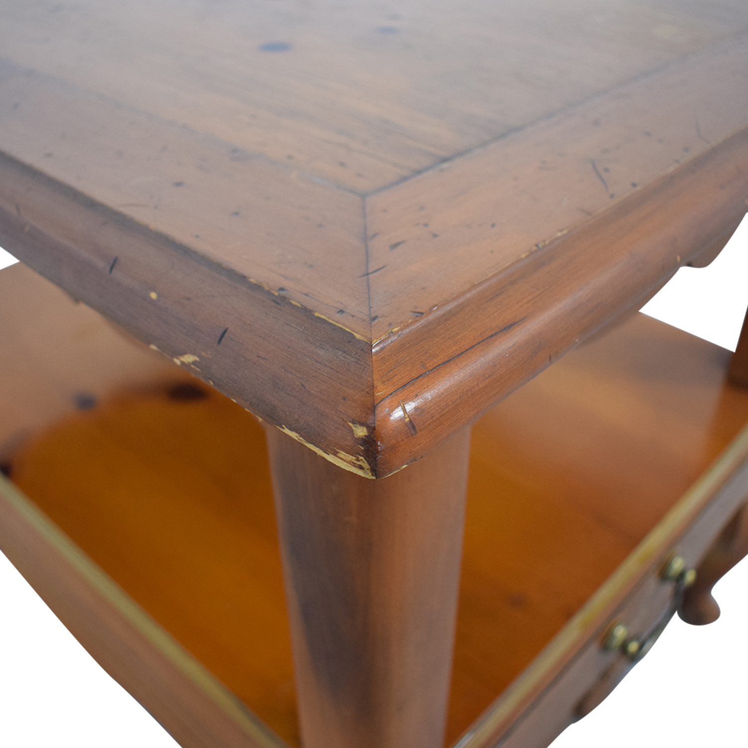 buy Ethan Allen Single Drawer End Table Ethan Allen Tables