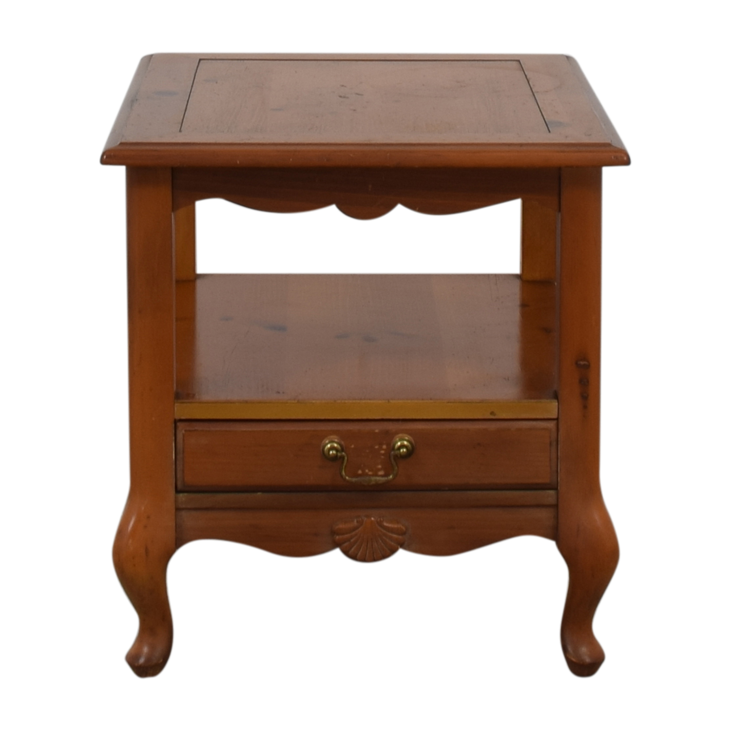 Ethan Allen Single Drawer End Table / Tables