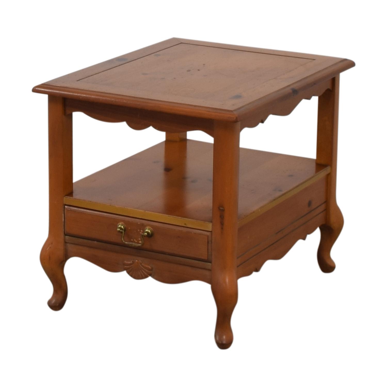 Ethan Allen Ethan Allen Single Drawer End Table End Tables