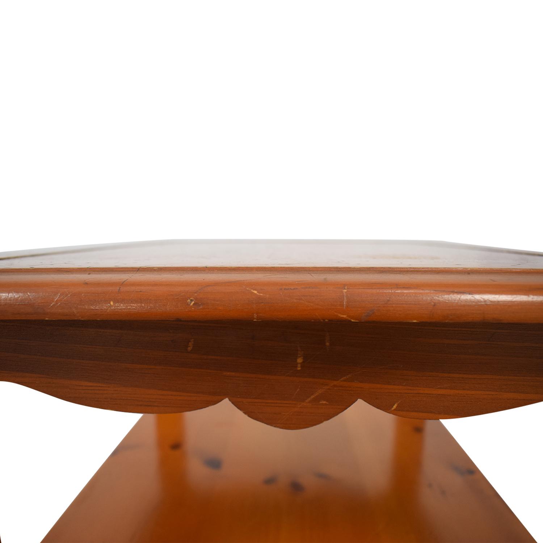 Ethan Allen Ethan Allen Single Drawer End Table nj
