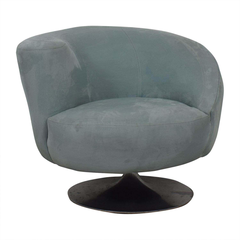 buy Jennifer Furniture Powder Blue Swivel Accent Chair Jennifer Furniture Chairs