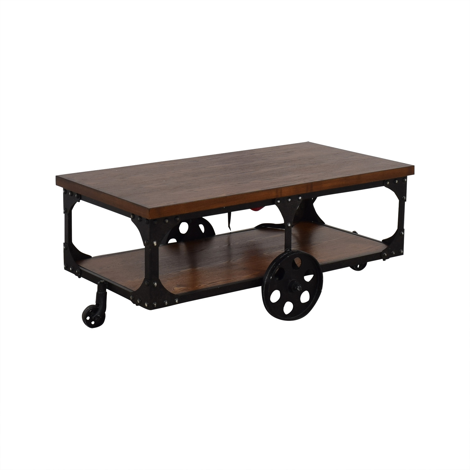 Coaster Fine Furniture Coaster Fine Furniture Coffee Table with Casters dimensions