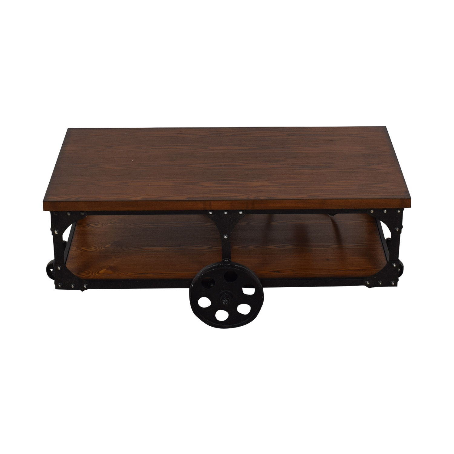 Coaster Fine Furniture Coffee Table with Casters / Tables