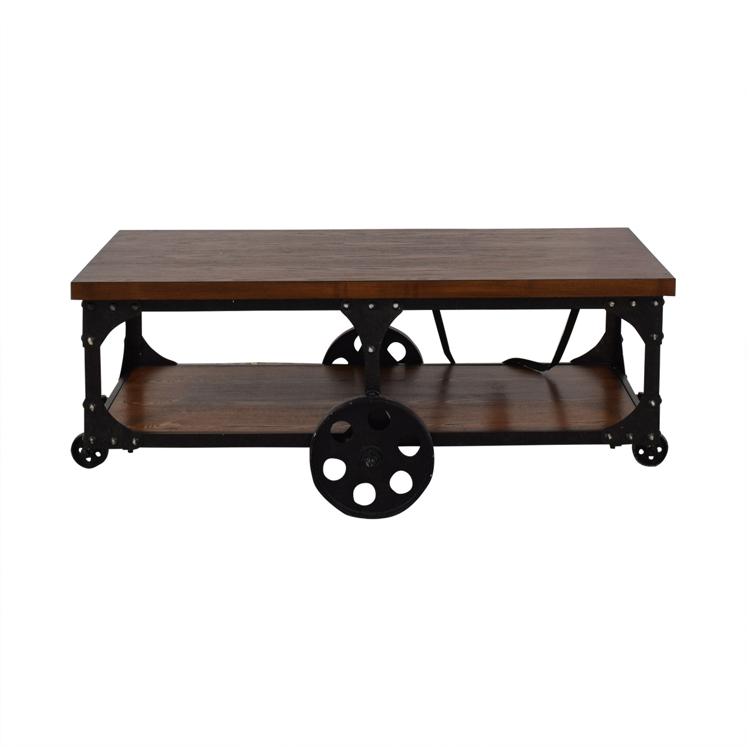 Coaster Fine Furniture Coffee Table With Casters Tables