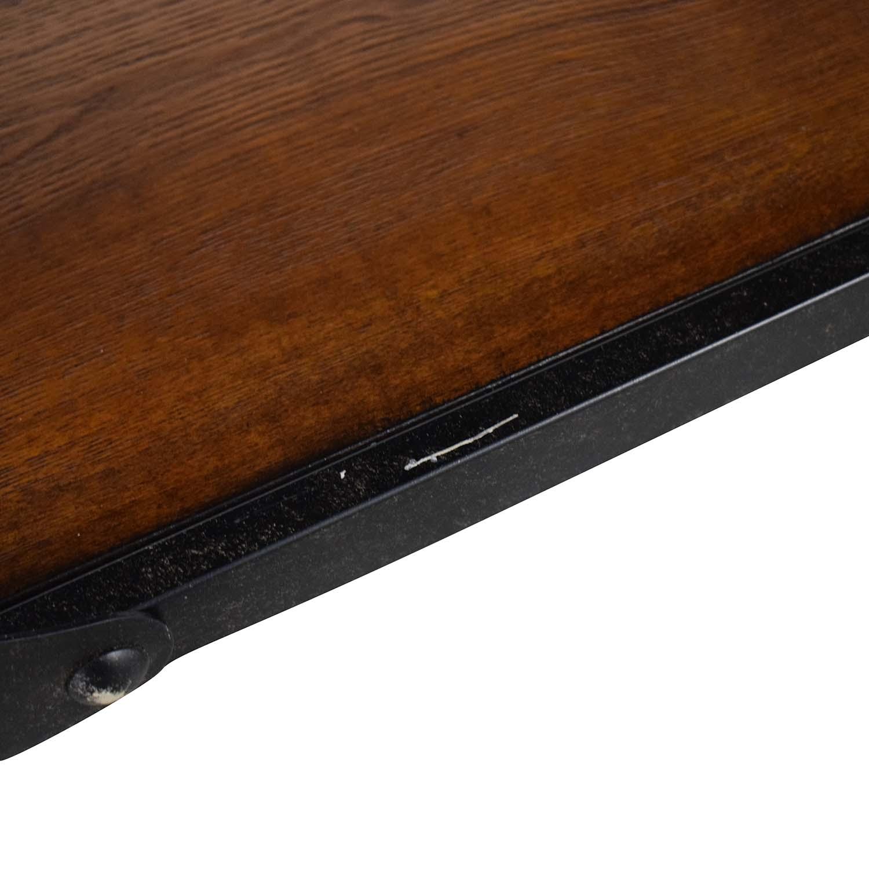 buy Coaster Fine Furniture Coaster Fine Furniture Rustic Industrial Roller Cart Sofa Table online