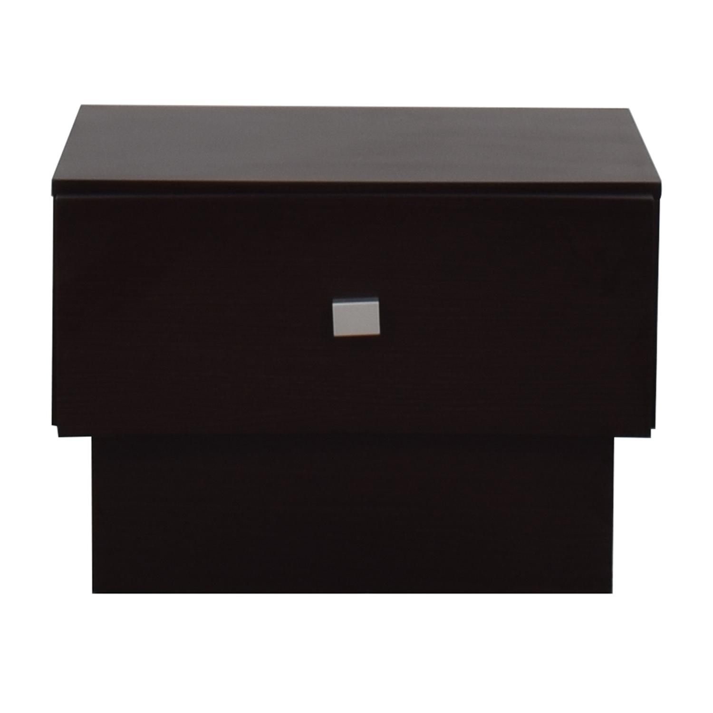 J&M Furniture J&M Furniture Modern Low Profile Nightstand on sale