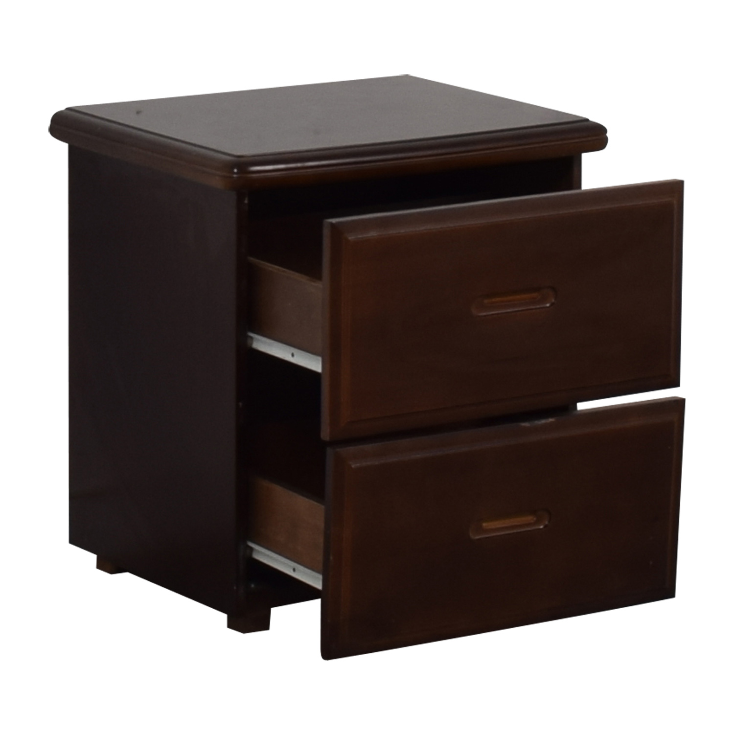 Wood Two-Drawer End Table sale
