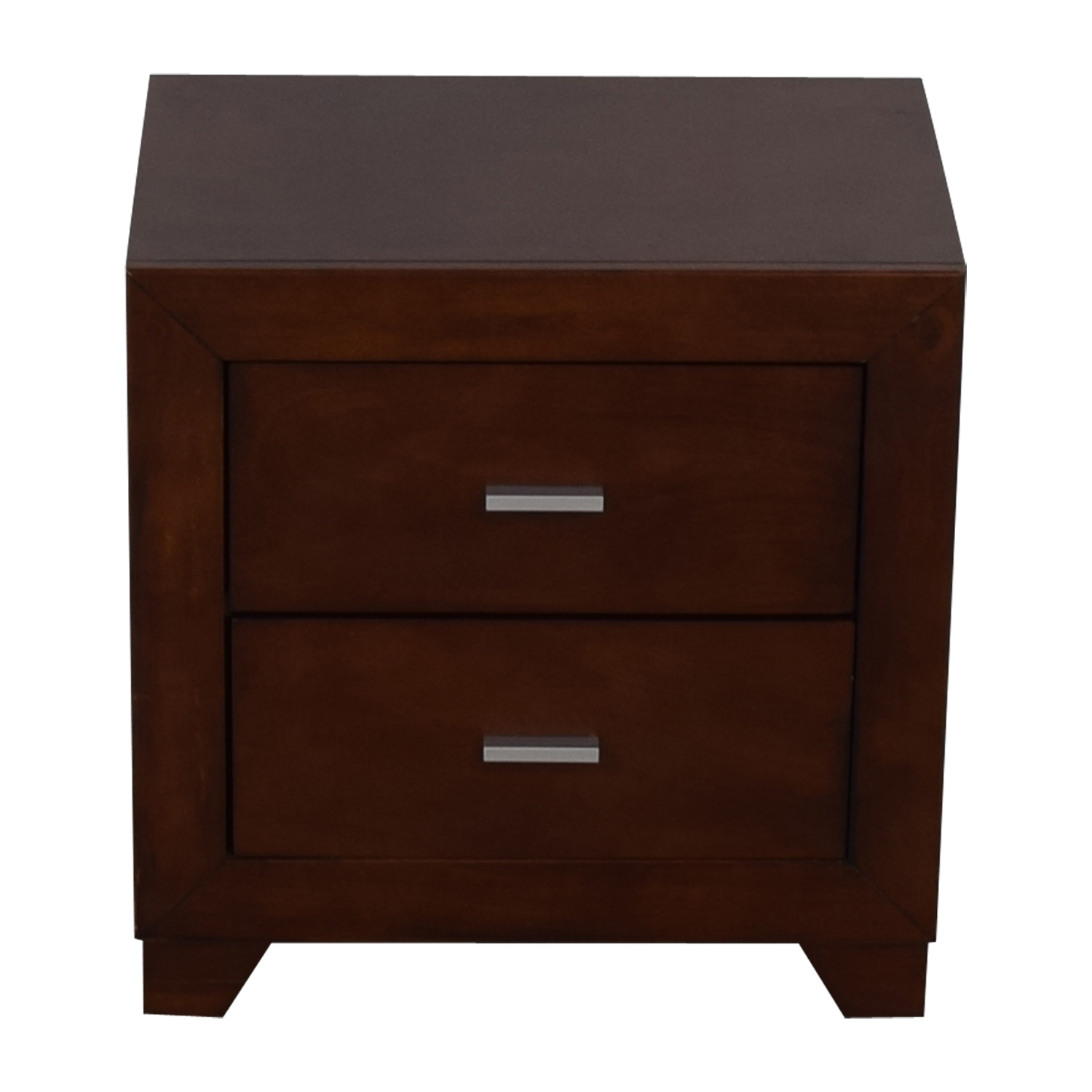 90 Off Coaster Fine Furniture Coaster Fine Furniture Tiffany Two Drawer Wood End Table Tables