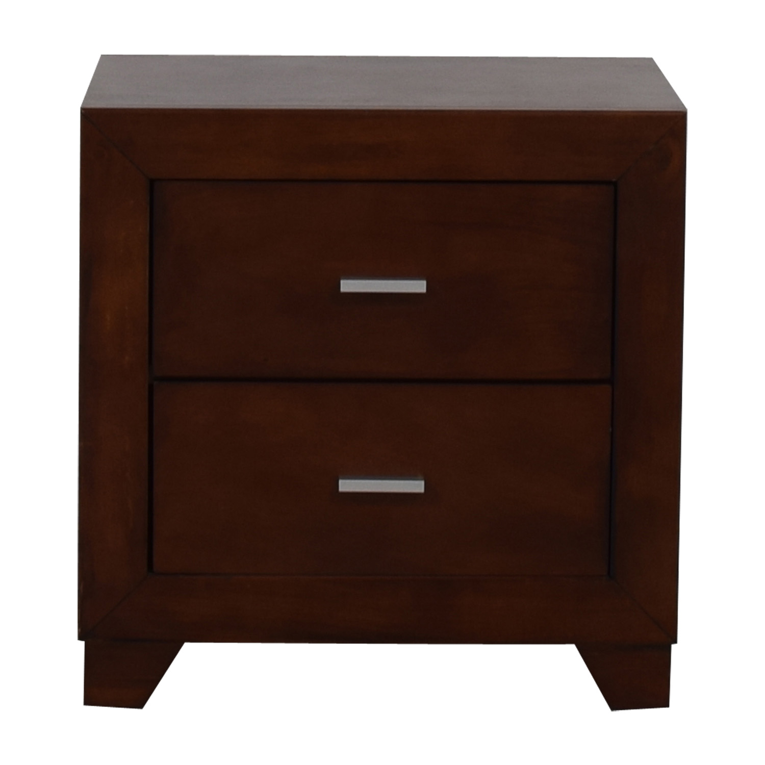 Coaster Fine Furniture Tiffany Two-Drawer Wood End Table Coaster Fine Furniture
