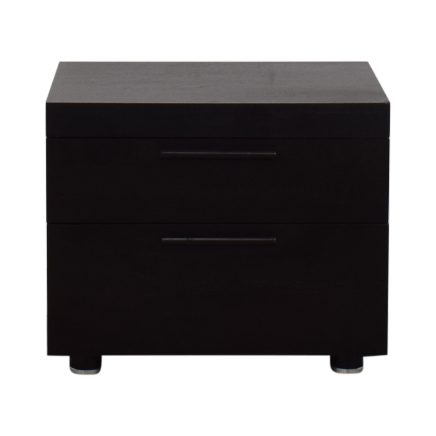 shop Beverly Hills Two-Drawer End Table With Hidden Compartment Beverly Hills
