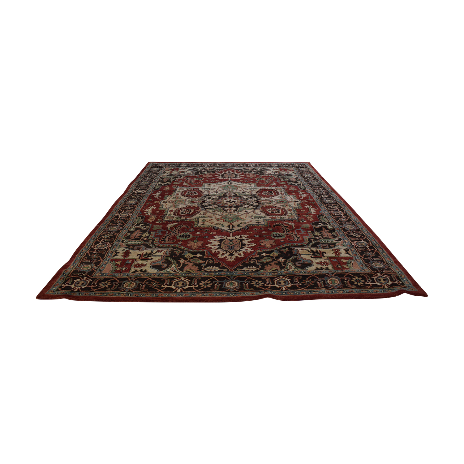 shop Nourison Red Area Rug Nourison