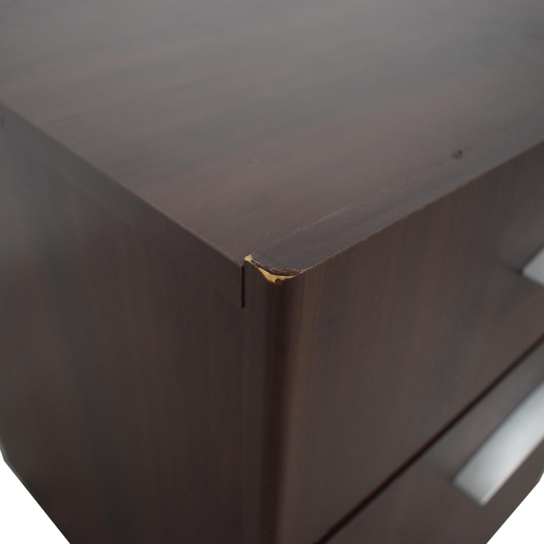 buy  Dark Brown File Cabinet online