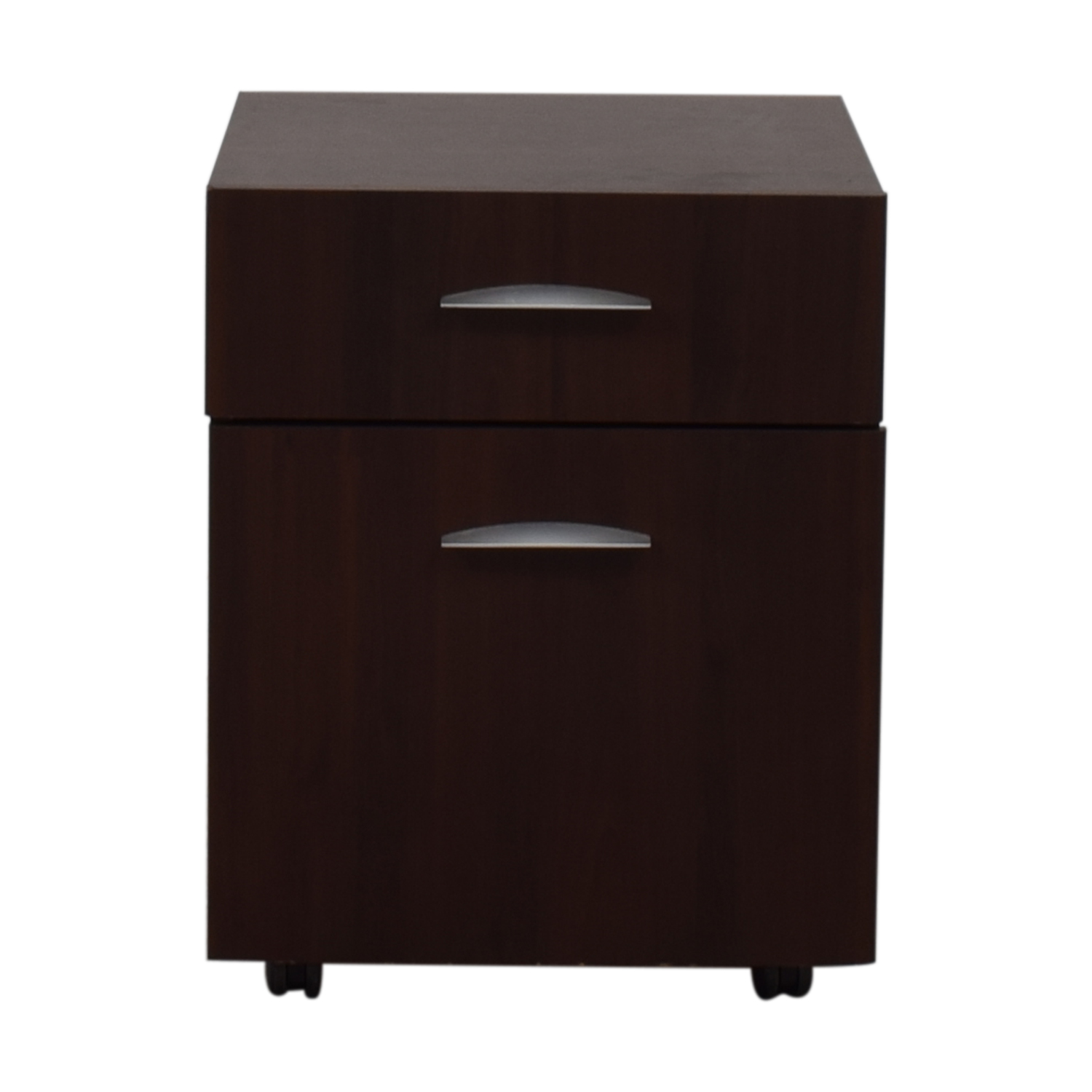 Dark Brown File Cabinet discount