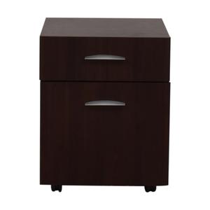 Dark Brown File Cabinet sale
