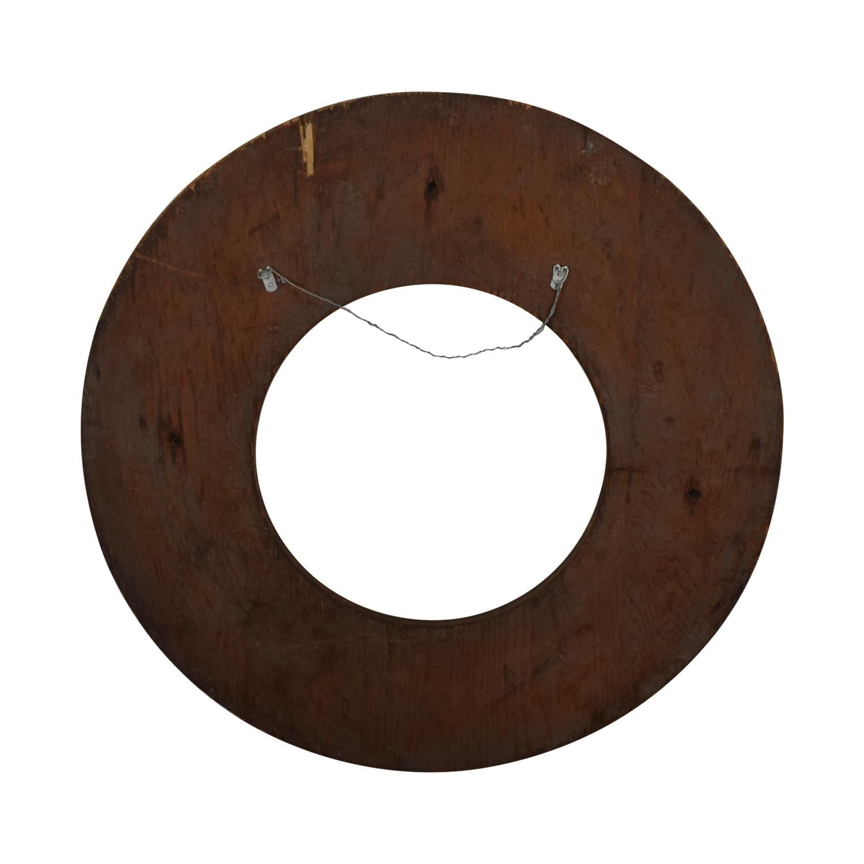 buy Wooden Circle Wall Hanging