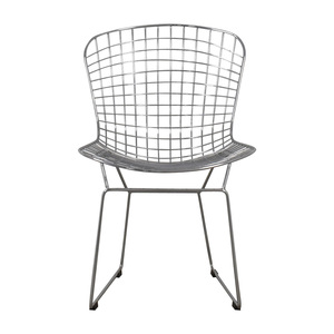 Mid-Century Chrome Wire Chair coupon