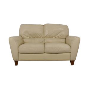 Macy's Macy's White Two-Cushion Loveseat price