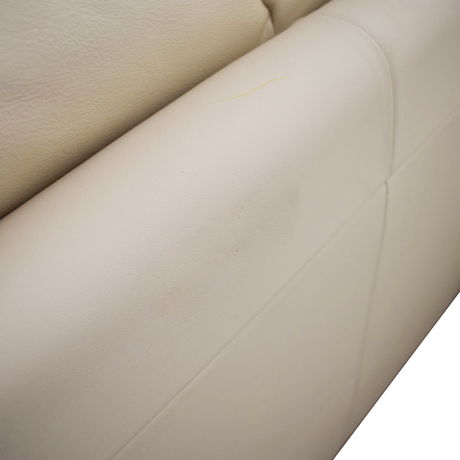 buy Macy's White Two-Cushion Sofa Macy's Sofas