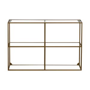 shop World Market World Market Adler Glass & Brass Bookshelf online