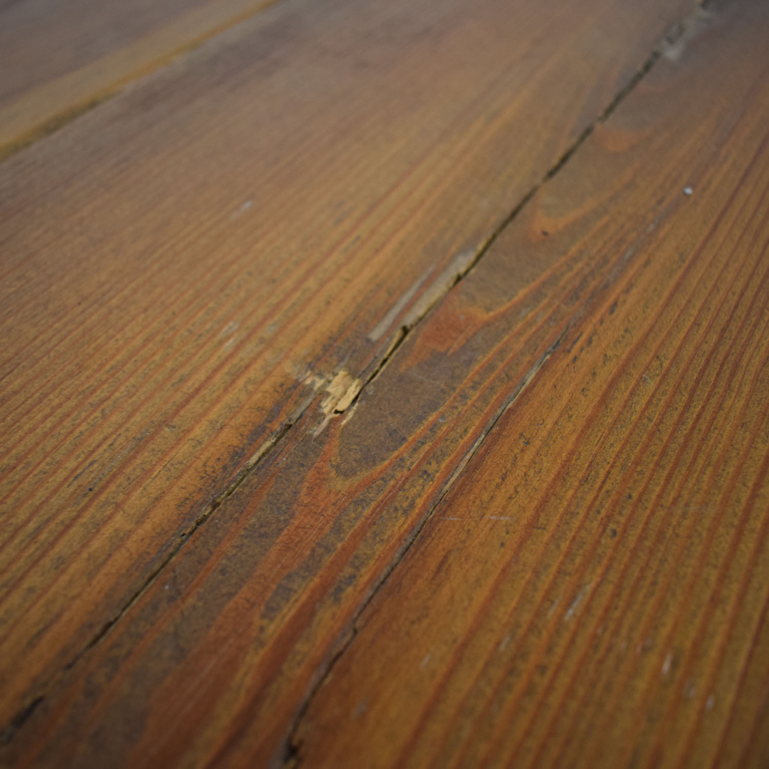 Pascal Benichou Industrial Rustic Wood Dining Table discount