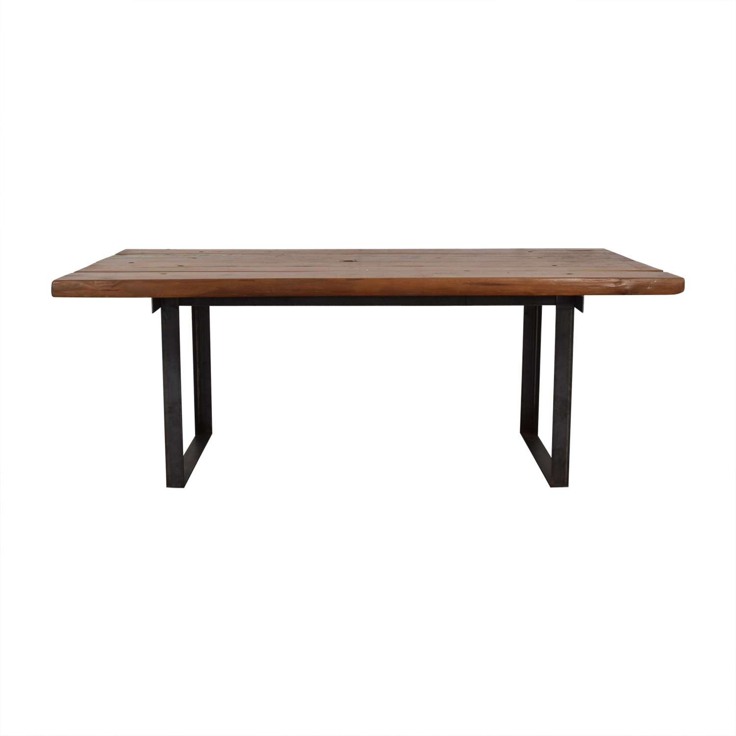 buy  Pascal Benichou Industrial Rustic Wood Dining Table online