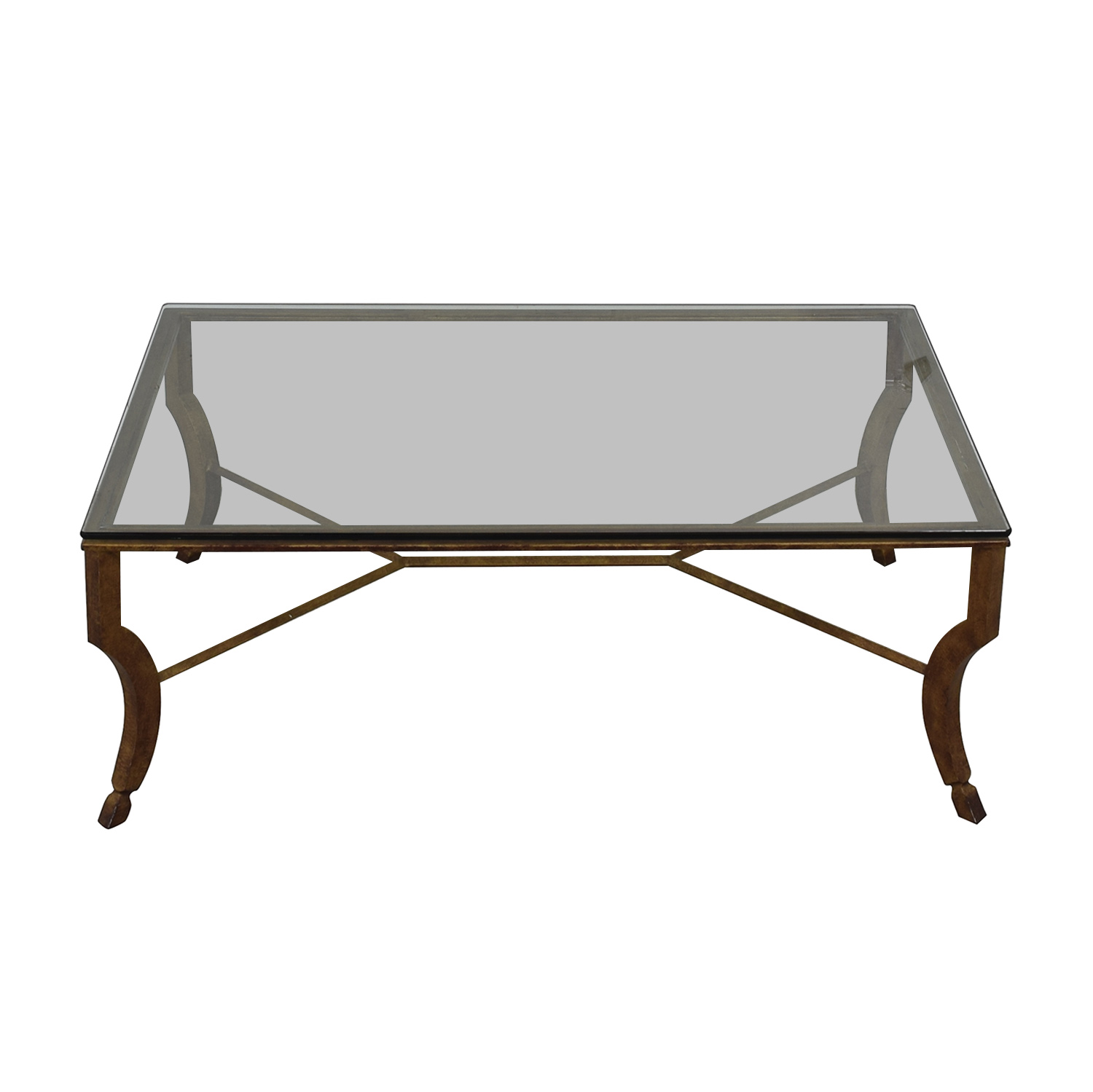 buy Glass and Metal Coffee Table