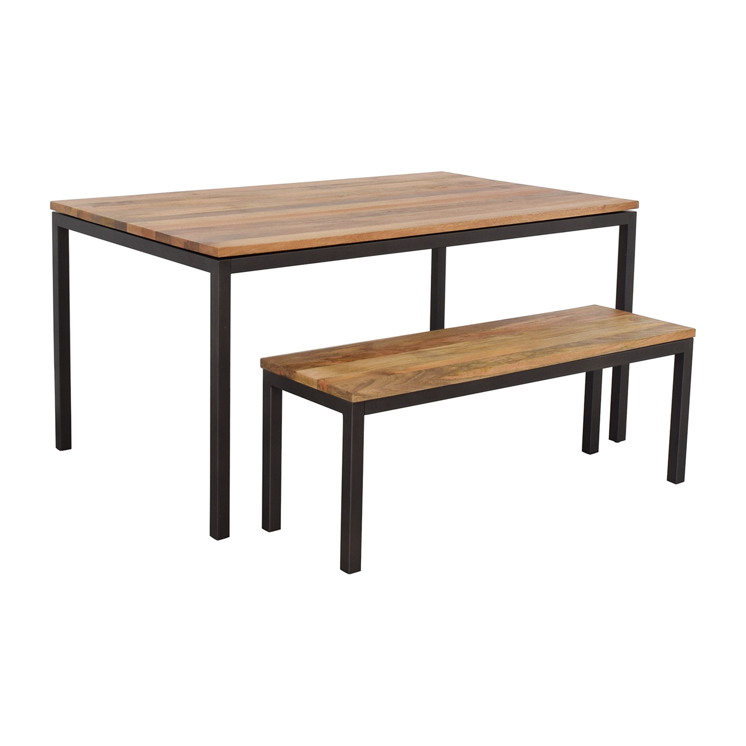 West Elm West Elm Dining Table and Bench used