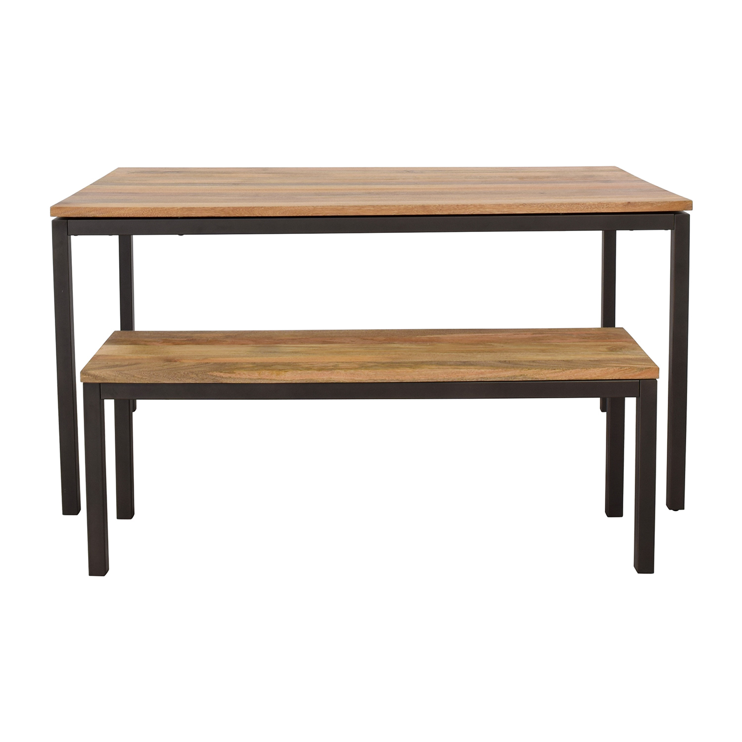 West Elm West Elm Dining Table and Bench nj