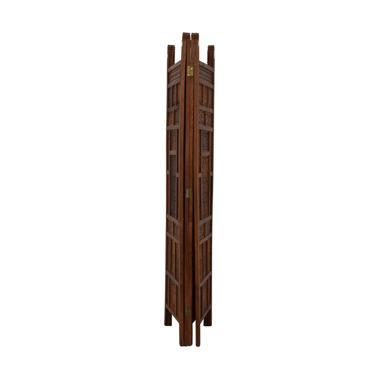 buy  Antique Carved Wood  Screen online