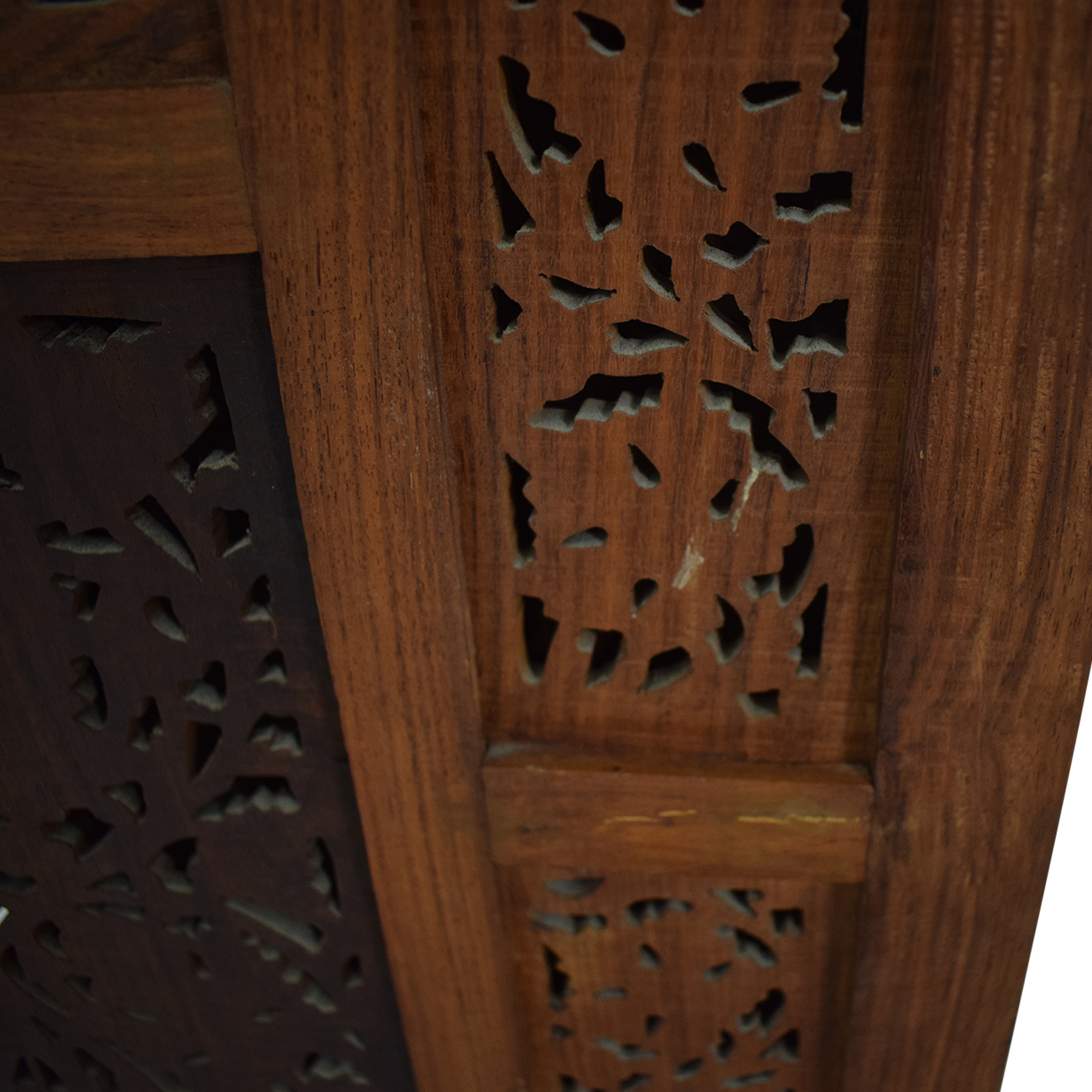 Antique Carved Wood  Screen / Dividers