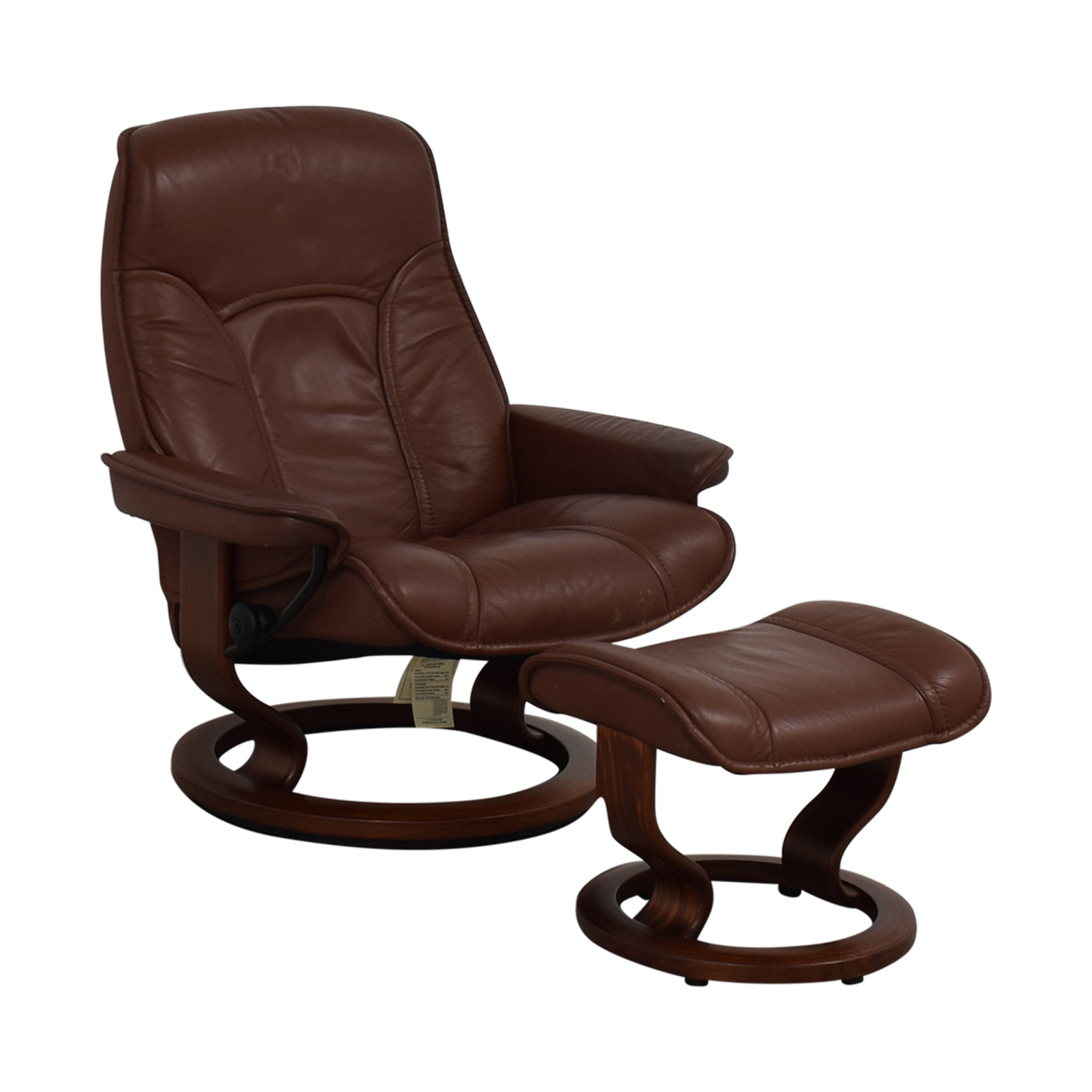 shop  Brown Swivel Chair with Ottoman online
