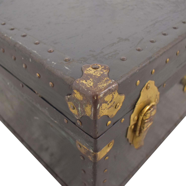 shop Vintage Wide Trunk  Storage