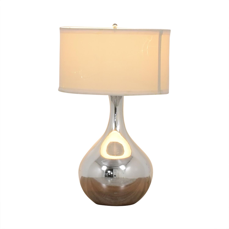 buy Modern Silver Lamp