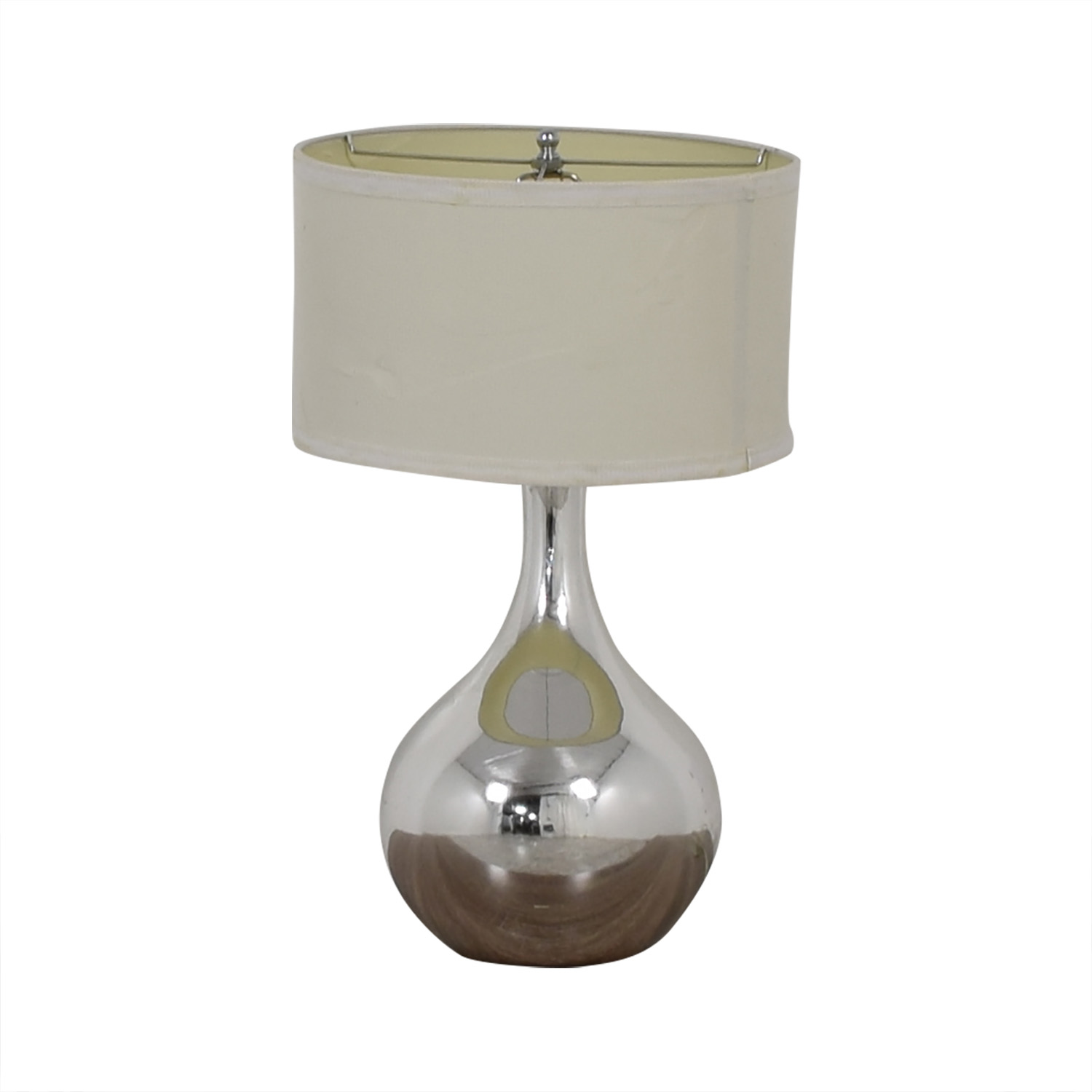 Modern Silver Lamp for sale
