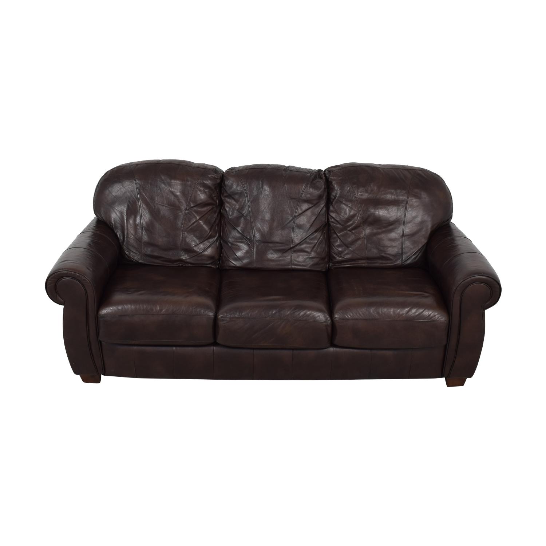 Lane Lane Leather Master Sofa second hand