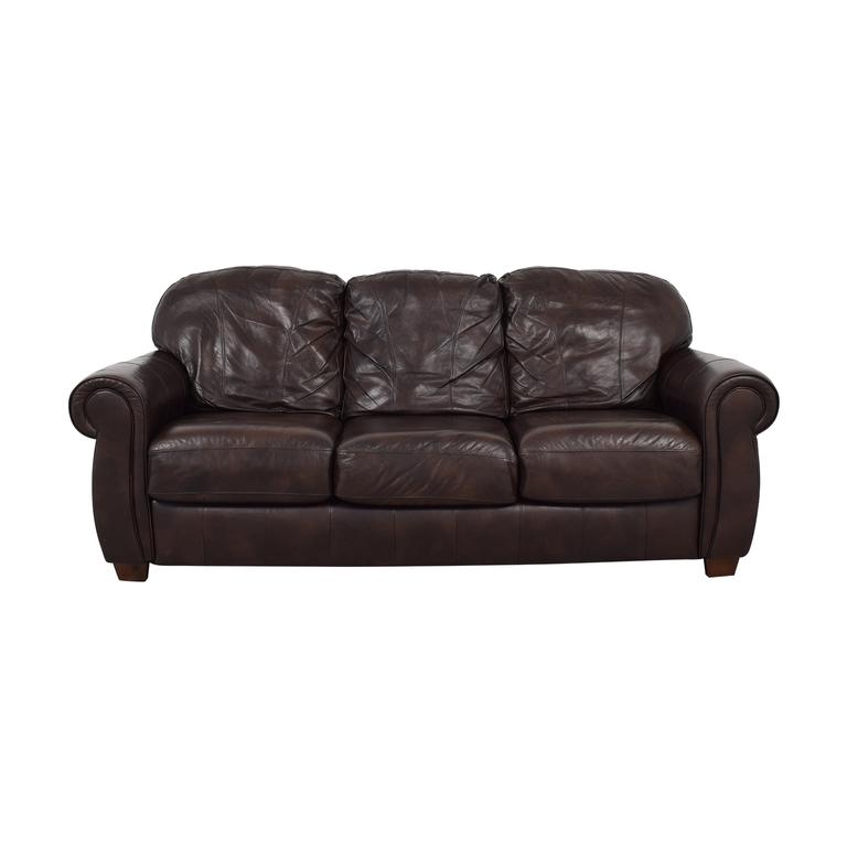 Lane Lane Leather Master Sofa on sale