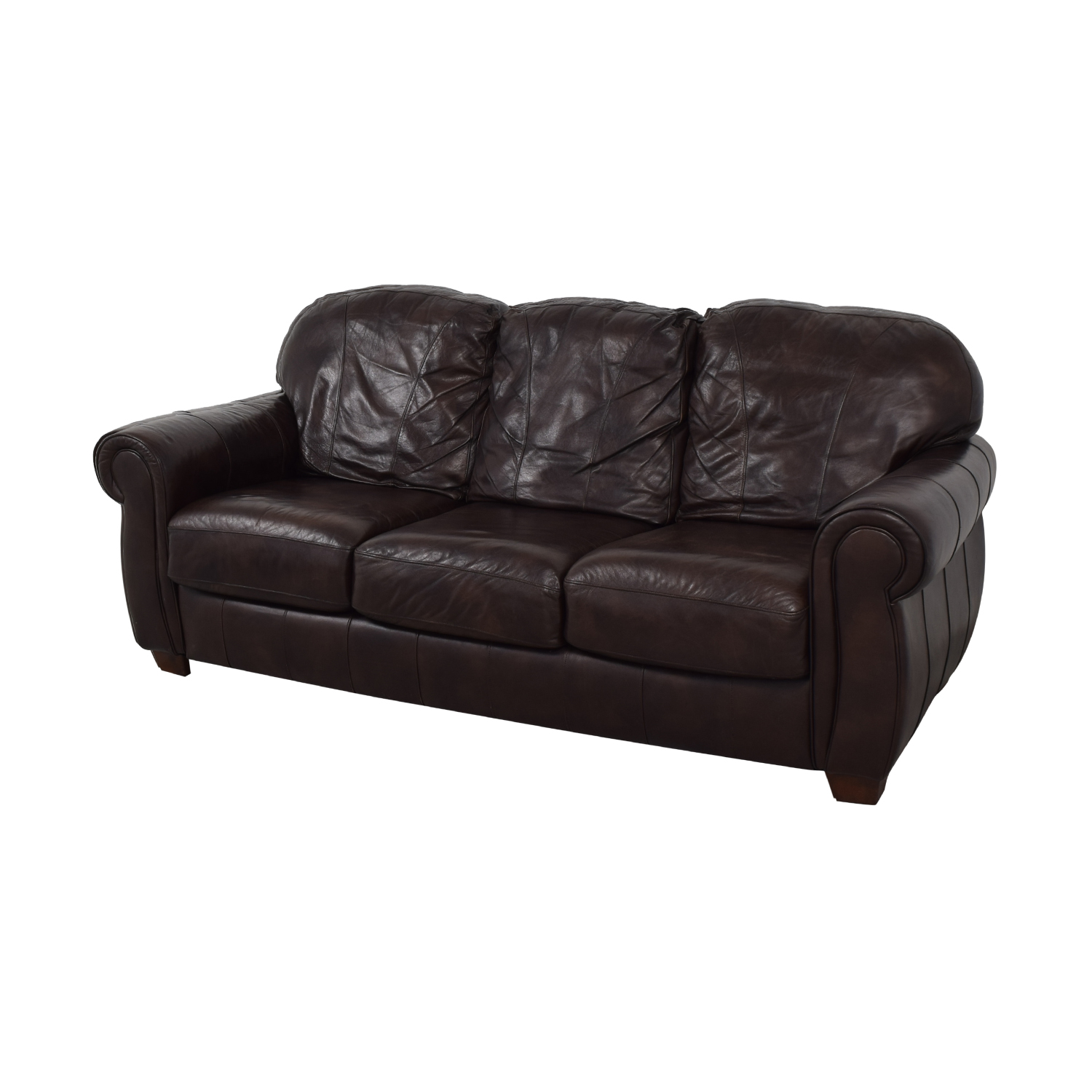 Swell Lane Leather Couch Beutiful Home Inspiration Truamahrainfo